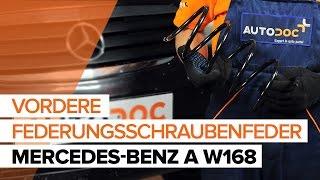 Auswechseln Autokühler MERCEDES-BENZ A-CLASS: Werkstatthandbuch