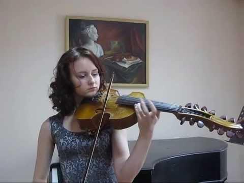 U.Mazchenko, triptych Castle ruins for viola d'amore(solo) - Victoriya Vanteeva