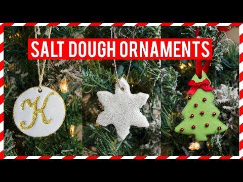 HOW TO MAKE CHRISTMAS SALT DOUGH ORNAMENTS   Simply Dovie