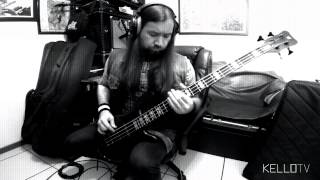 "Mudvayne - ""Not Falling"" (Bass Cover)"