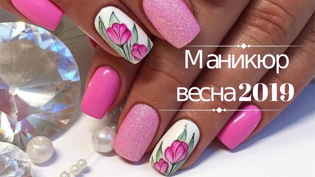 большой дизайн ногтей новинки весна