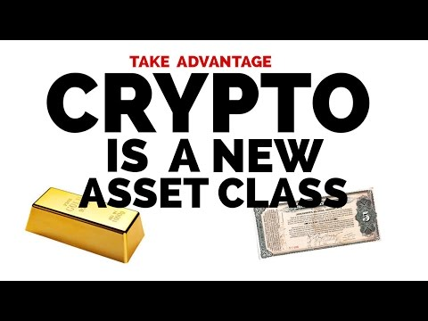 Bitcoin and Other CryptoCurrencies are New Asset Class
