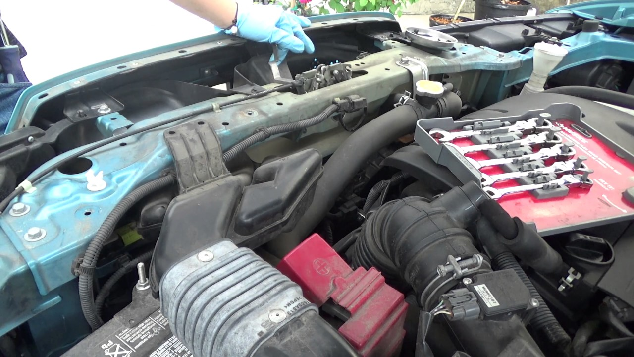 2013 Mitsubishi Outlander Sport Battery Replacement Youtube