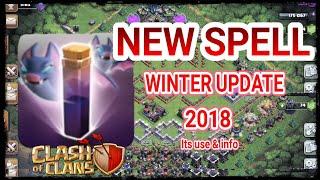 😍 NEW SPELL COC || BAT SPELL & It's USE || Clash of Clans Sneak Peek #2 || ssayak 2803