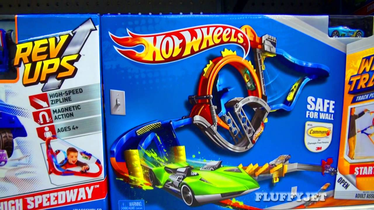 Hot Wheels Toys : Hot wheels toy store sneak peek super lane raceway
