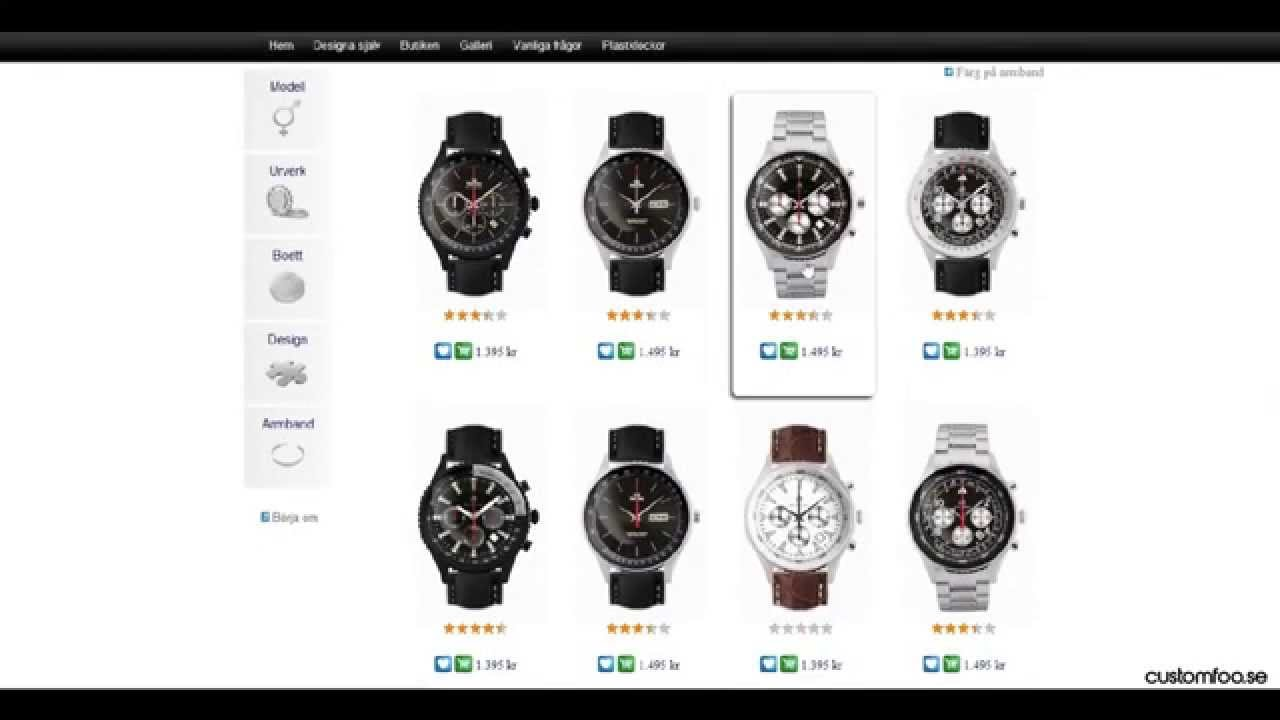 designa din egen klocka