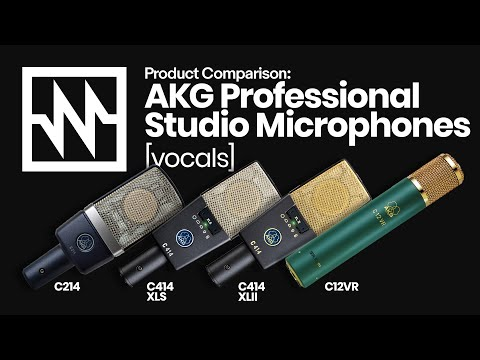 AKG Professional Studio Microphones: Vocal Comparison – with Emily Williams