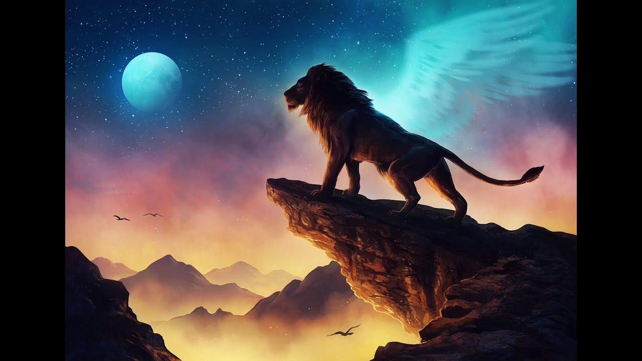 Free Like A Bird Original Song Lion Landscape Fantasy