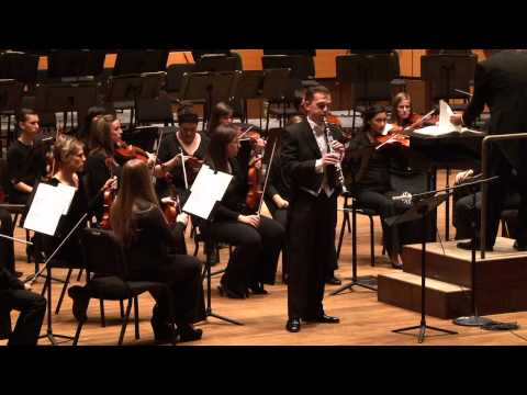 Colorado State University Symphony Orchestra with Wesley Ferreira: Concerto for Clarinet