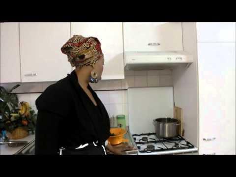 Ndunda na mbisi ya kokauka l gumes verts 1 doovi - Cuisine congolaise brazza ...