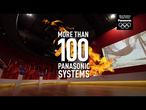 More Than 150 Panasonic AV Solutions at the New Olympic Museum