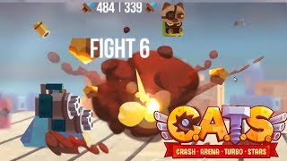 CATS: Crash Arena Turbo Stars - PRESTIGE 1 STAGE 6 BATTLES