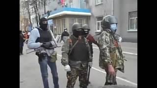 Славянск война Стрелковцы штурмуют милицию ДНР НОВОРОССИЯ