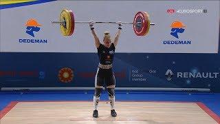 2018 European Weightlifting Championships Women 48 kg \ Тяжелая атлетика Чемпионат Европы [1080]