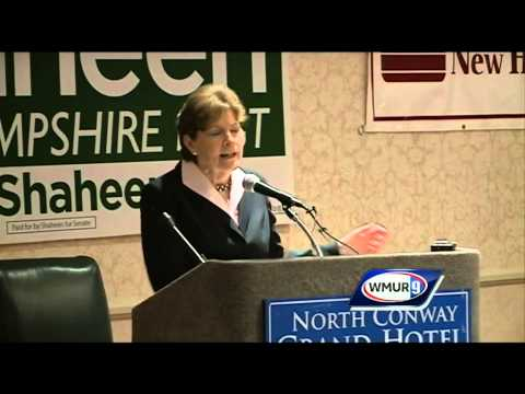 Scott Brown, Sen. Jeanne Shaheen debate