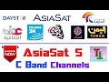 AsiaSat 5 @100.5°E ??  | Lots On C Band FTA Channels On Small Dish | In FreeDish Receiver download for free at mp3prince.com