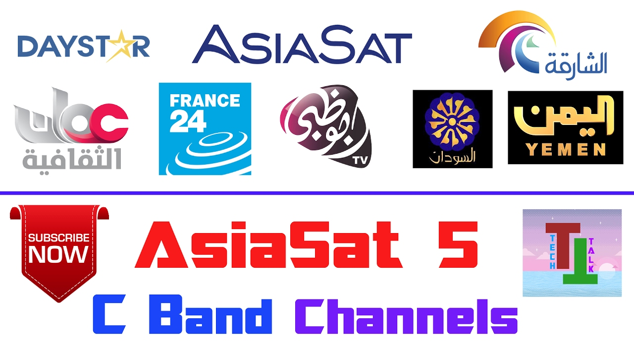 AsiaSat 5 @100 5°E ?? | Lots On C Band FTA Channels On Small Dish | In  FreeDish Receiver