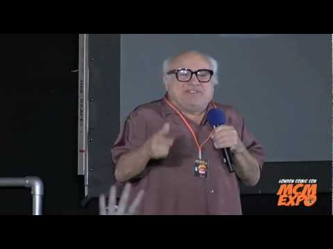 Danny DeVito  on stage Panel at the MCM London Comic Con