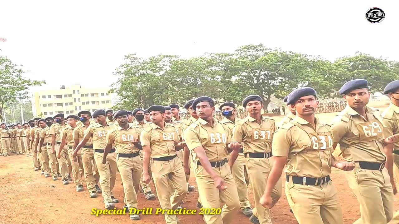 West Bengal Police Special Passing Out Drill Practice 216 Batch