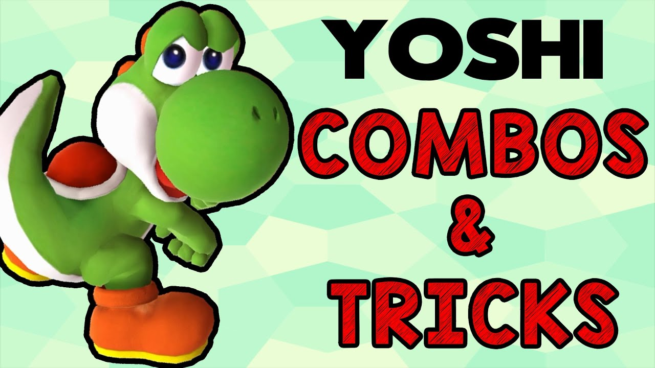 Yoshi Combos & Tricks! (Smash Wii U/3DS)