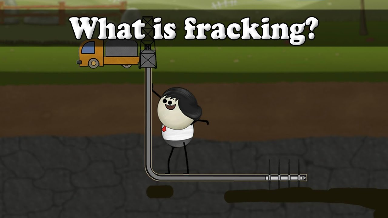 What Is Fracking Aumsum Kids Science Education Children Youtube