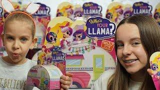 NOWOŚĆ - Who's Your LLama - lama mnie opluła!  Unboxing toys