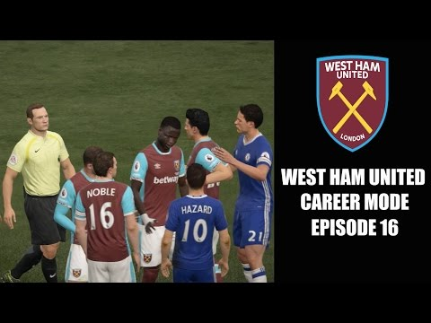 FIFA 17 Indonesia | West Ham United Career Mode #16 – Derby London Melawan Chelsea!