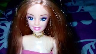 barbie bebeğinize tarak yapımı