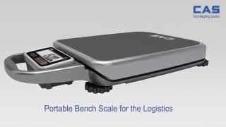 Переносные напольные весы CAS PB(Принципиально новая модель напольных весов от CAS с индикатором на витом шнуре. Легкие и удобные для транспо..., 2014-07-14T05:26:44.000Z)