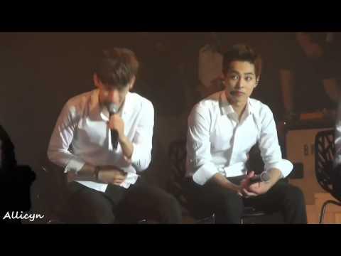 140818 EXO Talk + Best Luck - Chen Focus
