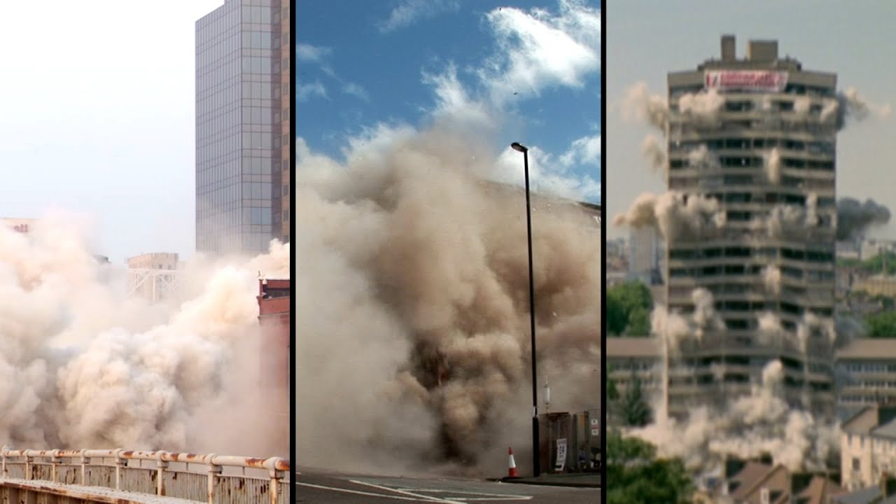 Demolition Derby: These Buildings Were Destroyed in Seconds