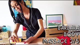 💆 Barbara's Complete Massage Techniques 3/5 - ASMR no talking