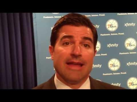 Sixers new CEO Scott O'Neil