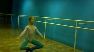 Урок классической хореографии для фигуристки. второго года обучения-г Харьков