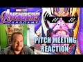 Avengers Endgame Pitch Meeting Reaction