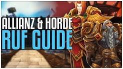 Ehrfürchtig bei der Horde / Allianz - [Ruf Guide]