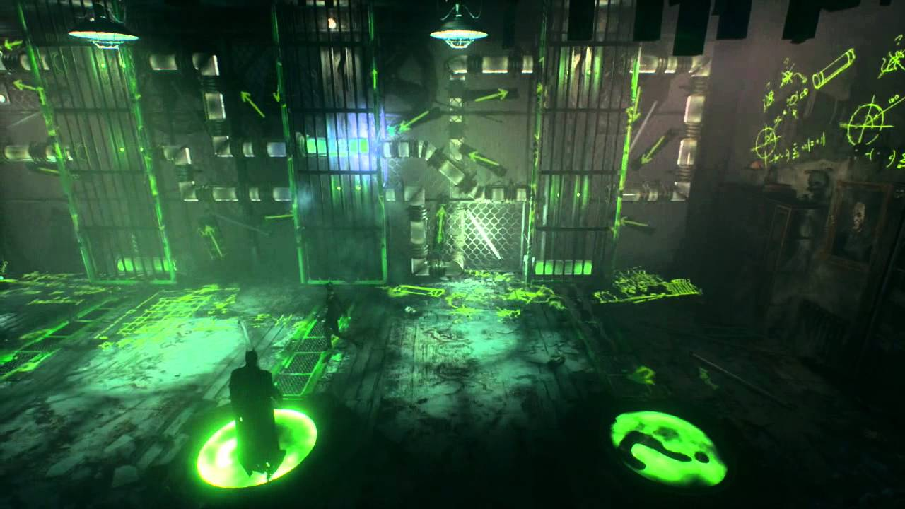 Batman Arkham Knight Riddler Challenge #6 - YouTube