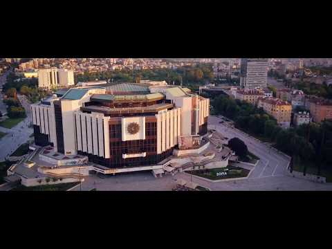 Beauty of Sofia: National Palace of Culture in 4K