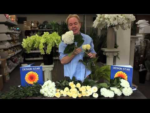 Michael Gaffney Floral Design - Creating A Bridal Bouquet