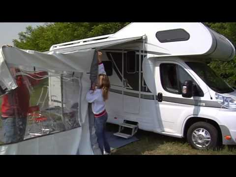 How to install a Fiamma Privacy Room to your F45 motorhome awning
