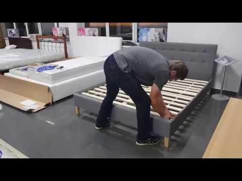 Instrukcja Montażu łóżka Tapicerowanego Bez Pojemnika Jak Złożyć łóżko łóżko Dawid