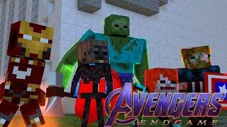 Monster School : AVENGERS ENDGAME CHALLENGE!! - Minecraft Animation
