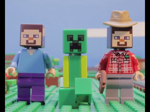 Creepers Part 2 - Lego Minecraft - Fan Creation