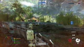 Star Wars Battlefront 2- 31 ASSAULT Killstreak in Galactic Assault | 1 Death Match as Infantry