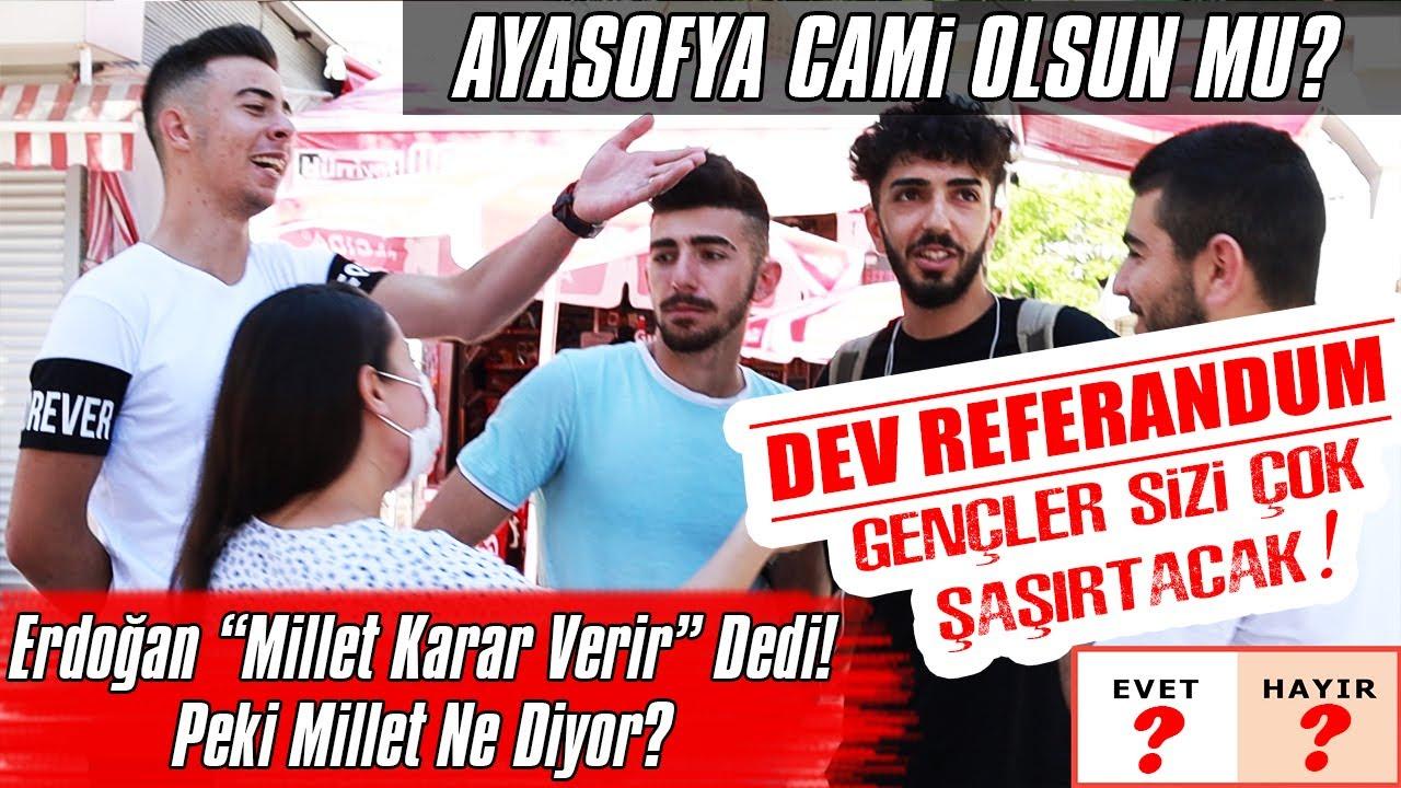 Ayasofya Cami Olsun Mu? Şok Cevaplar!