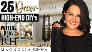 ⭐️Absolute TOP 25 BEST High End Decor DIYs & Dupe Ideas On a BUDGET!