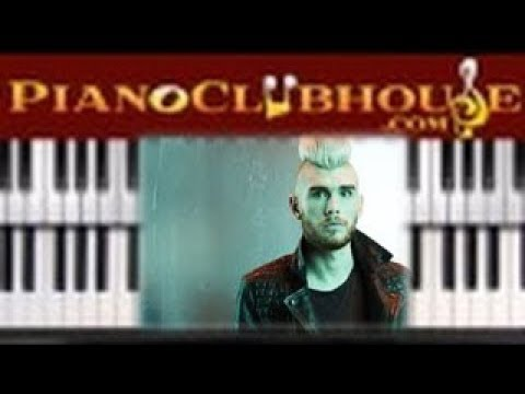 """🎹 How to play """"THROUGH ALL OF IT"""" by Colton Dixon (easy piano tutorial lesson free)"""