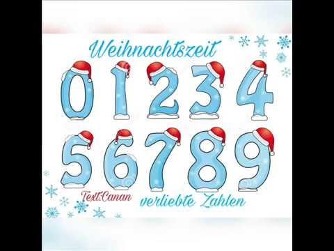 verliebte Zahlen - Weihnachtslied by Canan