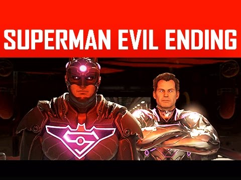INJUSTICE 2 Walkthrough Part 14 - Absolute Power - Superman Evil Ending (Story Mode Let's Play)