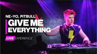 Pitbull, ne-yo - give me everything (dj feeling live experience)